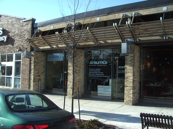 Athletico Milwaukee Eastside Exterior