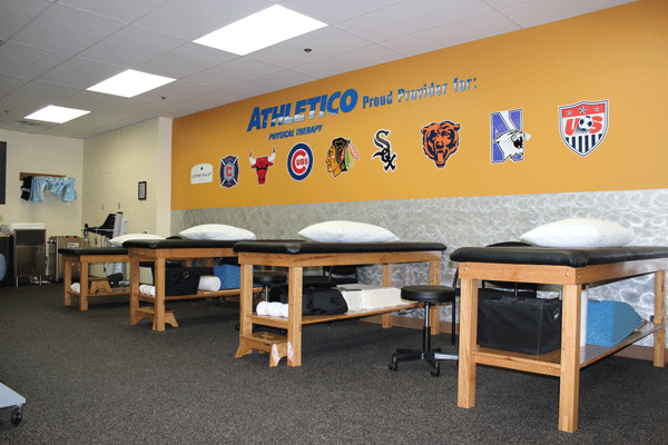 Athletico Lake Forest Interior