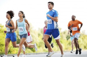 Marathon running may cause soreness