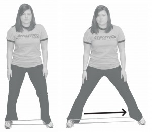 Lateral Walks