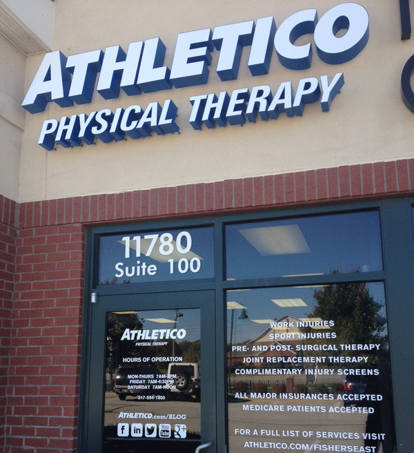Athletico Fishers East Exterior