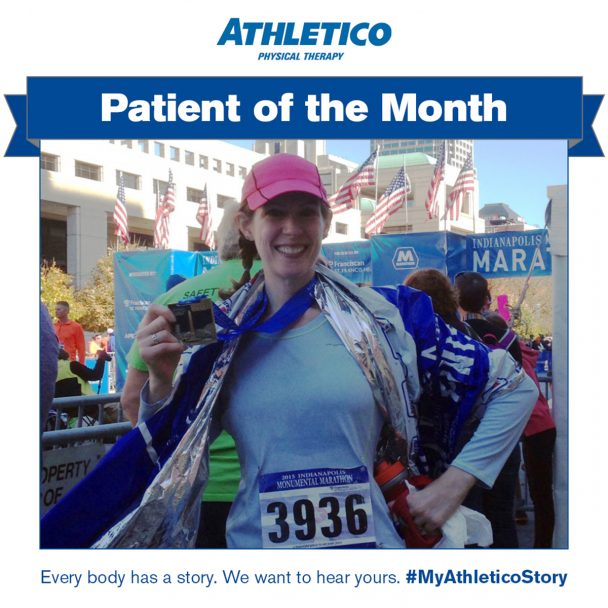 Athletico patient of the month November 2016