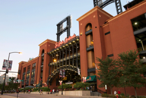 Busch Stadium Exterior in St. Louis