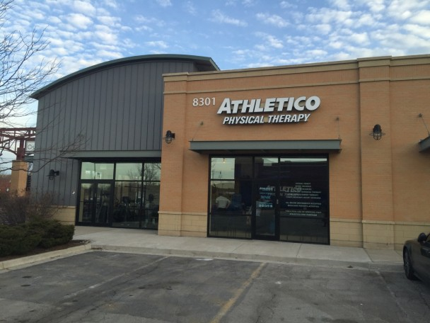 exterior of Atheltico Chatham West Physical Therapy