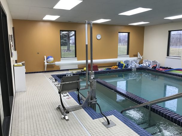 physical therapy and aquatic therapy in Racine, WI