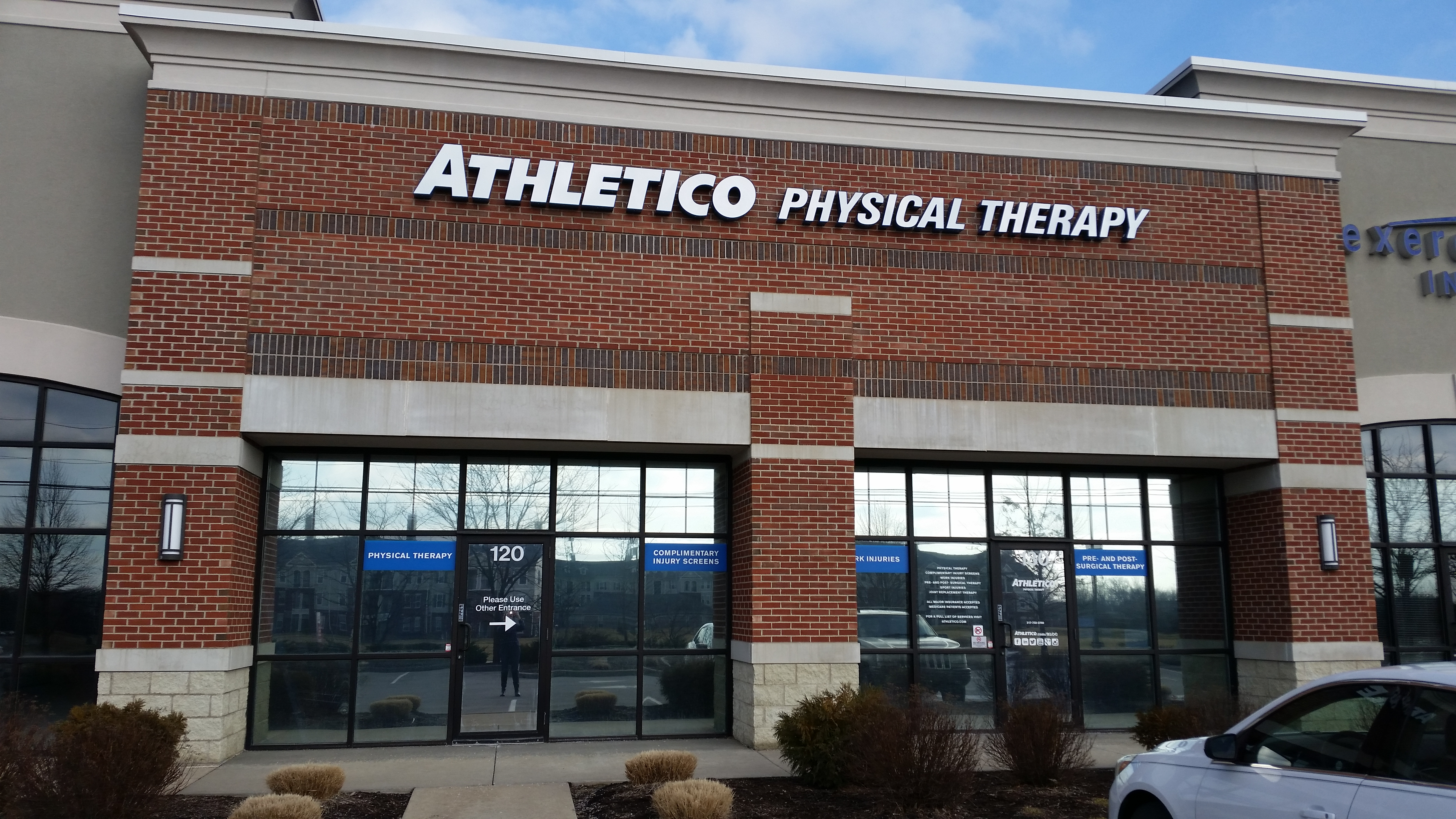 physical therapy zionsville