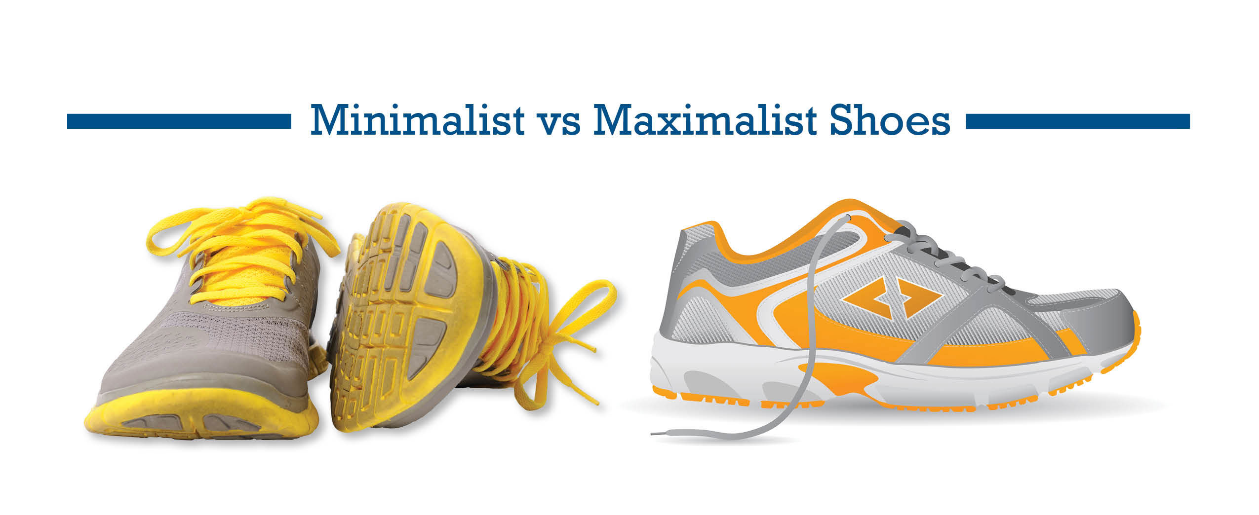 Minimalist Shoes vs Maximalist Shoes