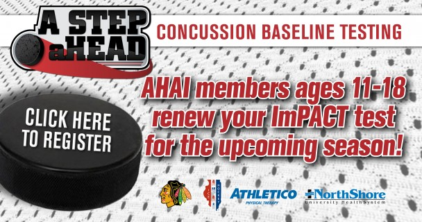 AHAI members, register for your ImPACT test!