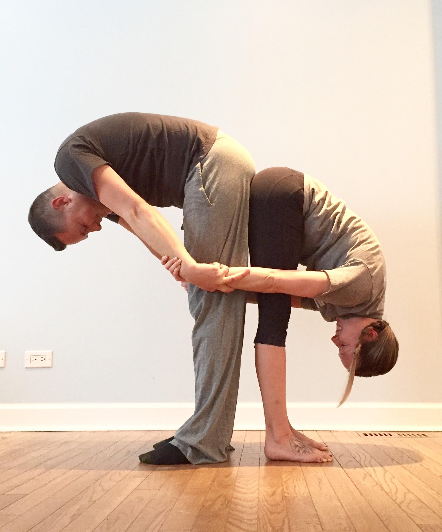 Stretch of the Week 2 - Forward Fold Partner