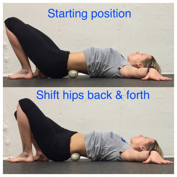 Self Massage Technique