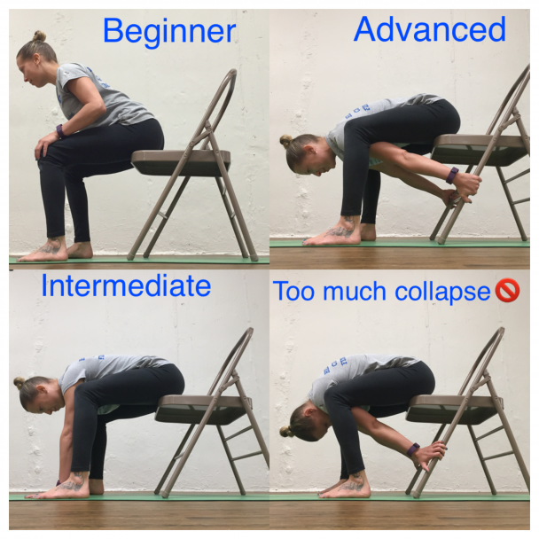 Stretch Of The Week Chair Forward Fold Athletico