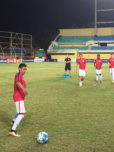 us soccer u17 national team goes to india