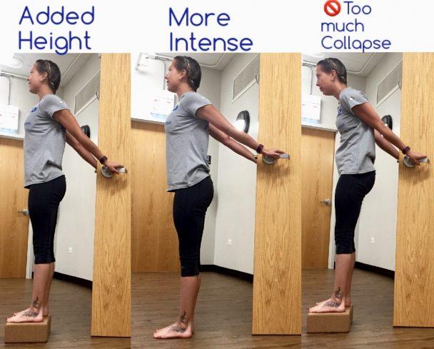 standing cobra door stretch