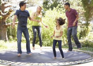 7 Differences Between Competitive Trampoline & Fun in the Backyard