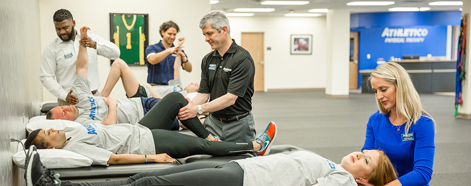 big list of conditions physical therapy treats