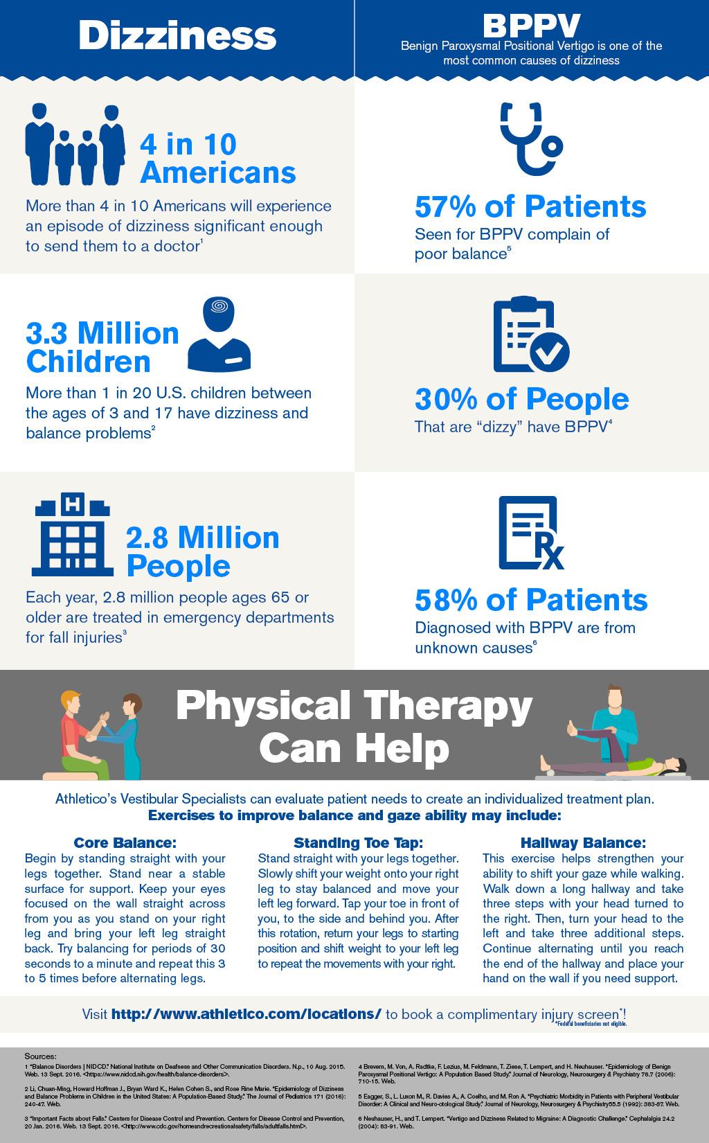Balance Awareness Week: Get the Stats (Infographic ...