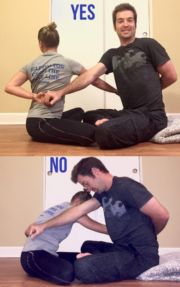stretch of the week - partner stretch