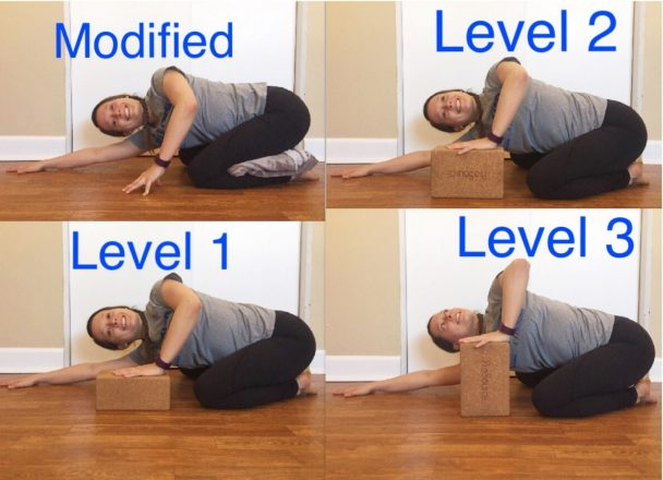 Stretch of the Week: Childs Pose Twist