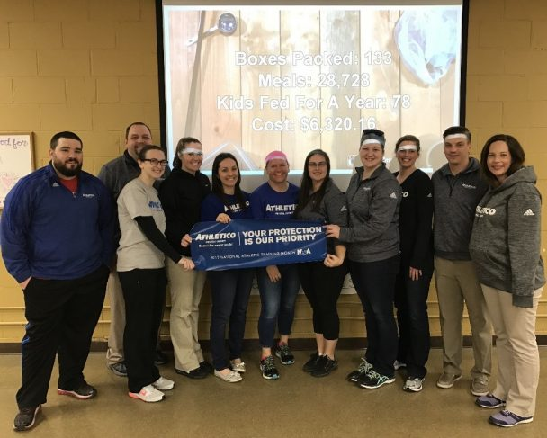 Athletico Gives Back: March 2017 Fundraising & Volunteer Initiatives
