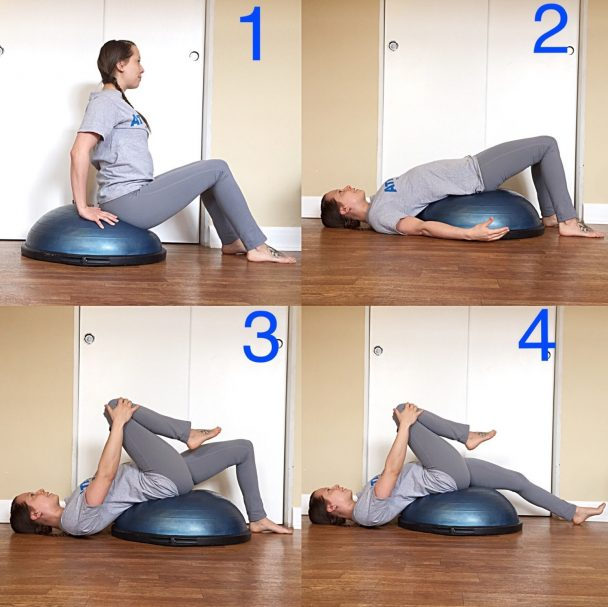 Stretch of the Week: Bosu® Ball Psoas Stretch