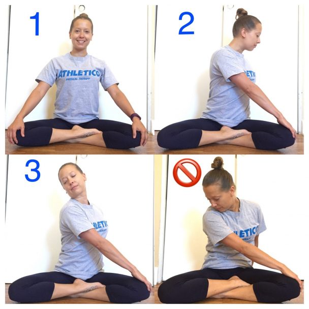 Stretch of the Week: Seated Twist with Neck Stretch