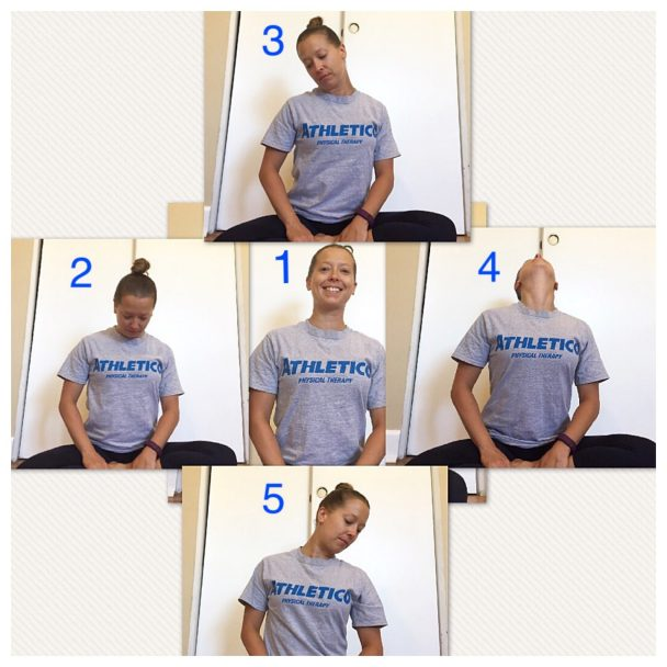 stretch of the week neck circles
