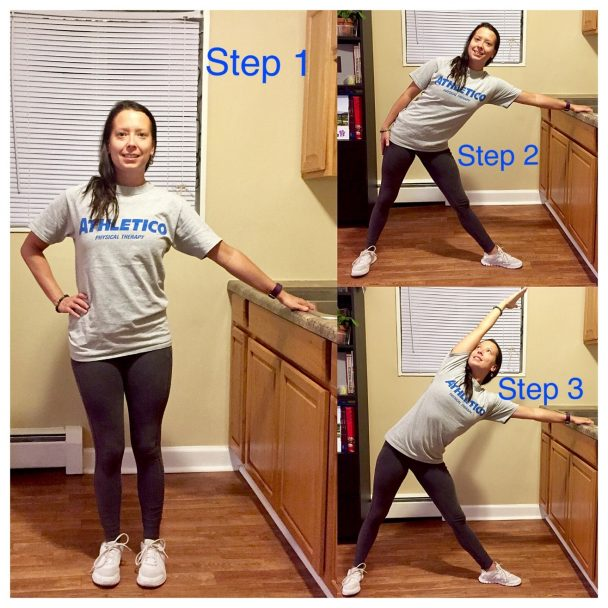 stretch of the week triangle pose