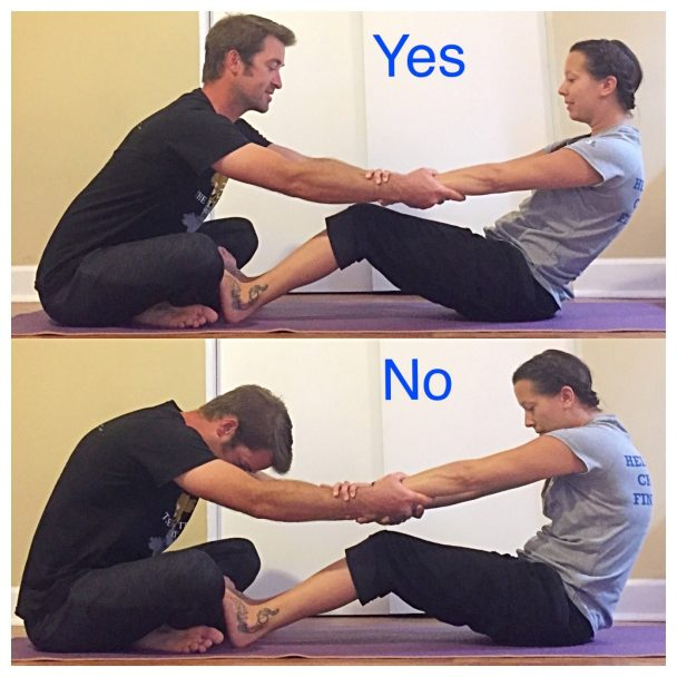 Stretch of the Week: Assisted Easy Seated Stretch