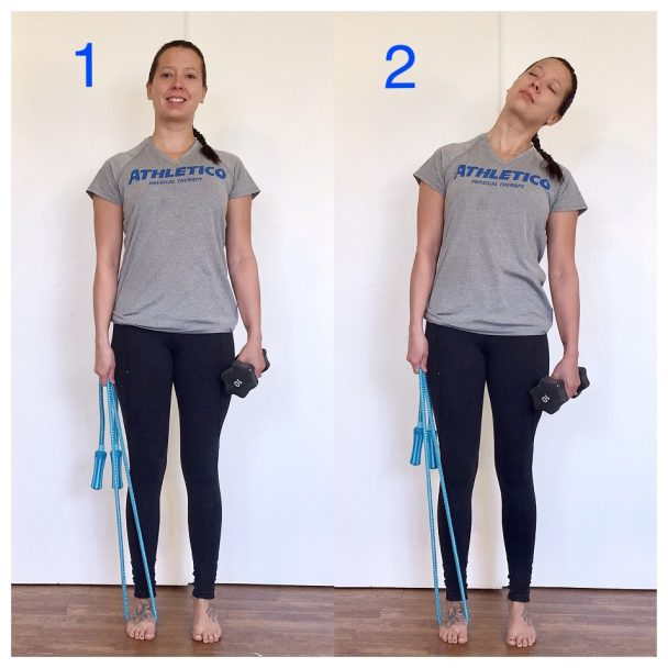 Stretch of the Week: Self Trapezius Traction Stretch
