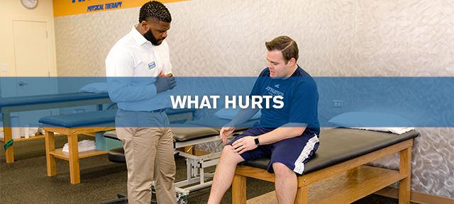what hurts physical therapy