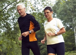 Staying active is a key component to help avoid arthritis.