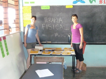 Physical therapy in Honduras