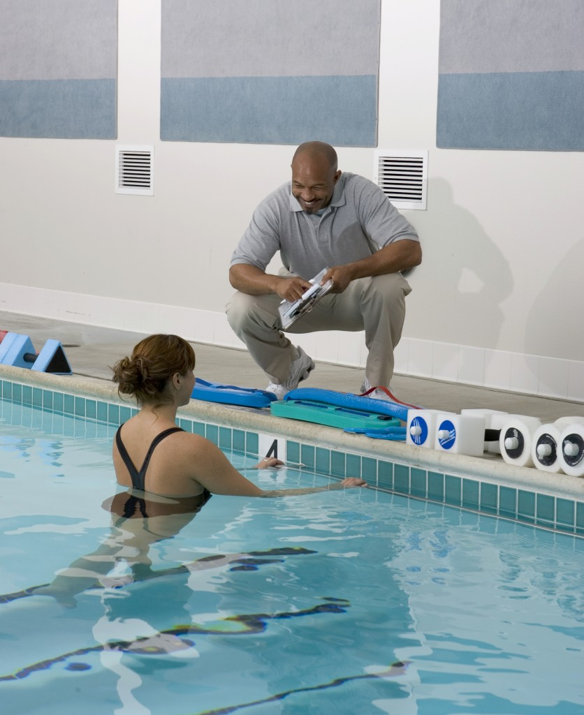 Aquatic therapy benefits the arthritic patient.