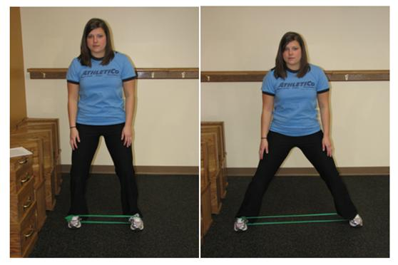 Lateral Band Walks
