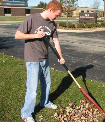 Tips to Save your Back while Raking