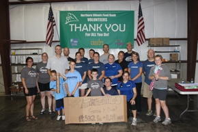 Athletico Illinois Food Bank Volunteer Day