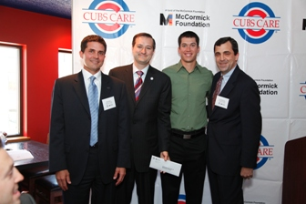Mark Kaufman Attends Cubs Care Luncheon