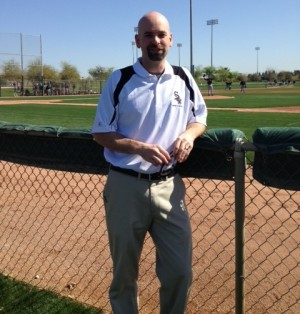 Athletico's Jeff Stein will serve as the team physical therapist for the Chicago White Sox.