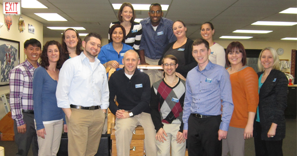 Schaumburg receives FOTO outcomes excellence certificate.
