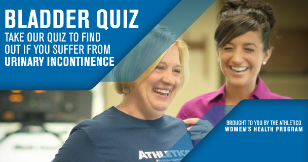 Take our quiz to see if you suffer from urinary incontinence