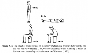 Intervertebral Disc Pressure