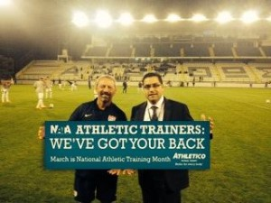 Behind the Scenes with U.S. Men's National Team Athletic Trainer
