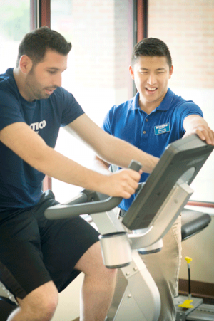 Physical Therapy at Athletico on Bicycle
