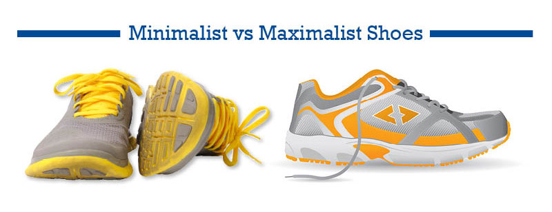 minimalist running shoes vs maximalist running shoes