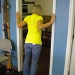 Doorway Stretch - Shovel