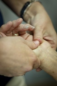 collaborative treatment: physical therapists and occupational therapists treat one injury