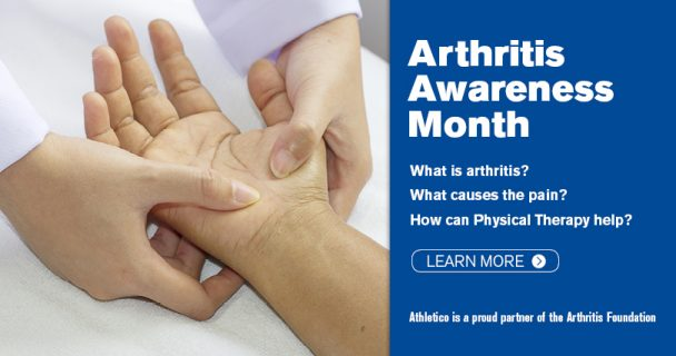 arthritis awareness month 2016 athletico physical therapy