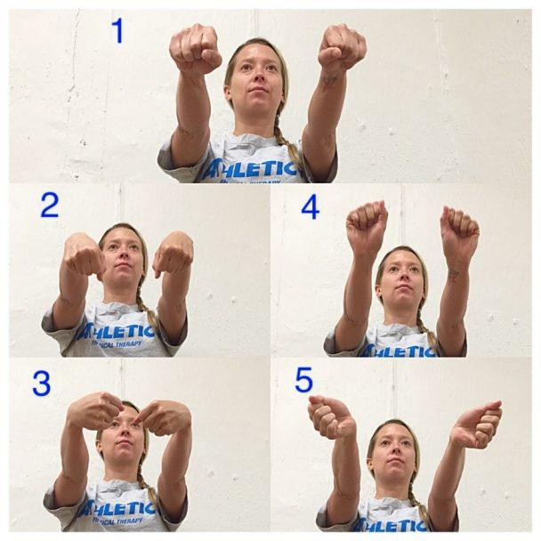 wrist stretch range of motion