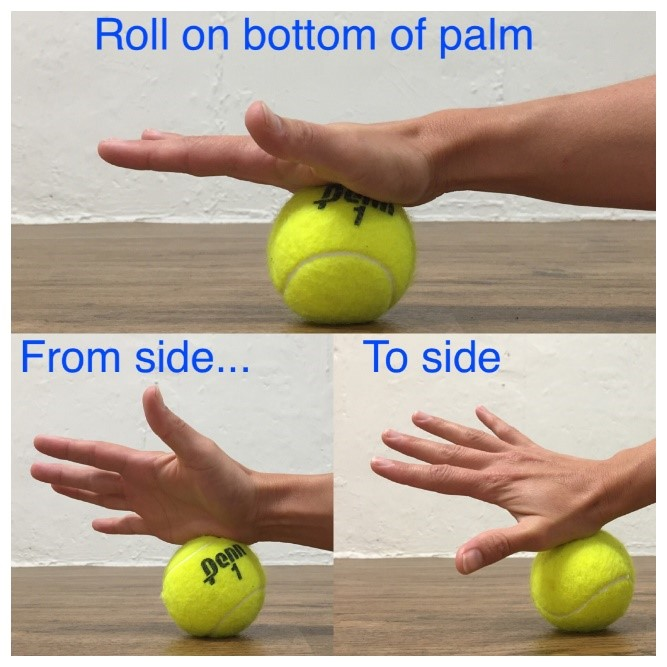 self massage for the wrist 2