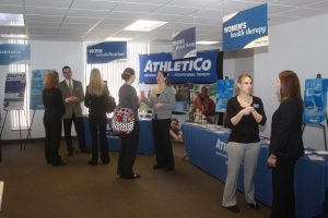 Athletico Career Fair Booths